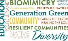 Bioneers is an innovative nonprofit educational organization that highlights breakthrough solutions for restoring people and planet.