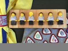 Cub Scout Chocolate Lego figures Chocolate Lego, Lego Figures, Cub Scouts, Boy Scouting