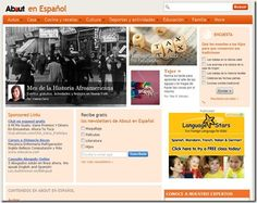 See resources at teachinglearningspanish.blogspot.com aboutcomspanish
