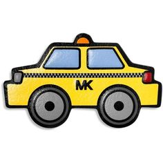 Michael Michael Kors Taxi Sticker ($6.64) ❤ liked on Polyvore featuring accessories, taxi and michael michael kors