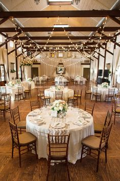 black tie Charlottesville farm vineyard wedding pippin hill indoor reception chivari