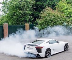 LFA being driven by @rossiterracing! | Photo by @ldncarphotography | #blacklist #lexus #lfa