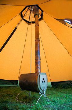 Kodiak Flex Bow Canvas Tent With Stove Jack Outdoor