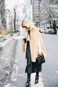 32 Street-Style-Approved Ways to Throw on a Cape This Season