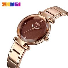 Skmei New Simple Ladies Watches Elegant Ladies Quartz Watch Pu Strap Waterproof Women Watches Relogio Feminino Sale Price Watches