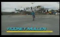 Vídeo de Rodney Mullen um artista do skate se apresentando no ano de 1986 na cidade de Del Mar nos Estados Unidos em um campeonato Freestyle.