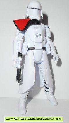 star wars action figures SNOWTROOPER OFFICER snowspeeder pilot force awakens