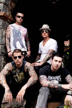 Such a great band, so good in my opinion, really like their stuff! Avenged Sevenfold.