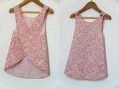 kids dress patterns | Sewing Pattern - backless summer dress