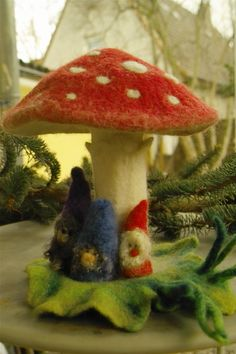 Mushroom and elves, what's not to like.