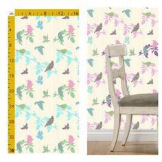 Fabric and wallpaper - Shetland Starling design  #homedecor #interior #home #textiledesign