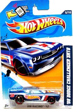 2008 dodge challenger srt8 hot wheels 2012 hot wheels racing 510 blue - Hot Wheels Cars 2012