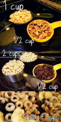 Spiffy Pet Care Tips... Hamster Food snack mix. Save for rodents, but delicious for your little ones. Inspired by Sunshine's Night Out!