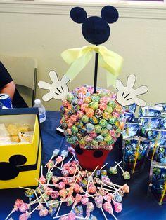 Mickey Mouse lollipop tree:]]
