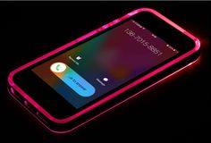 "iPhone SE TPU+PC LED Flash Light Up Case Remind Incoming Call Cover for Apple iPhone 5 5S 6 6S 4.7"" 6 6S Plus 5.5"""