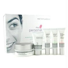 MD Formulations My Personal Peel System by MD Formulations. $62.19. Customizable at-home skin resurfacing, rebalancing and renewal treatment.. With this three-step personalized at-home peel, you can have perfectly smooth, balanced skin that looks visibly younger, clearer and more radiant. The My Personal Peel System kit allows you to customize and fine-tune a professional treatment according to your own skin's concerns and changing needs, all while renewing overall skin tex...