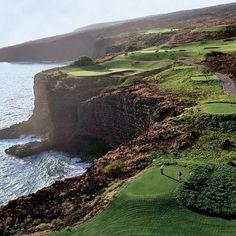 The Challenge Golf Course at Manele Bay, Four Seasons Resorts, Lana'i, Hawaii -