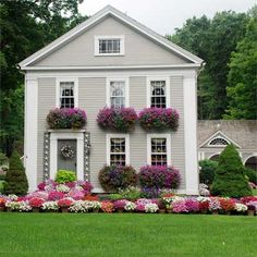 Once a run-down, neglected box, this stunner is now host to numerous charity functions each year. |  thisoldhouse.com