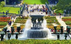 Vigeland Park: Frogner, Oslo, Norway - Europe's Most Picturesque Gardens | Travel + Leisure