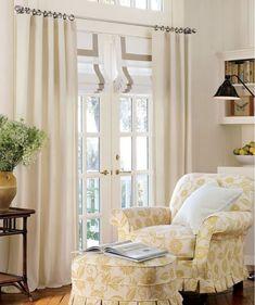 Sears Window Treatments For A Bay Window Possible Window