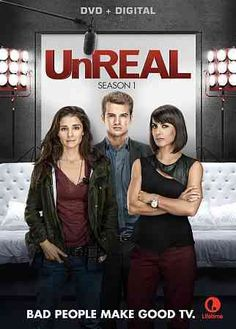 This release collects every episode from the debut season of UNREAL about a television producer who works to manipulate relationships on a dating show in order to film outrageous footage.