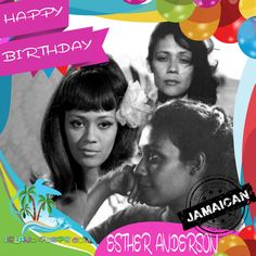 Happy Bday #EstherAnderson! #Jamaican born Filmmaker & Actress! #islandpeeps #islandpeepsbirthdays