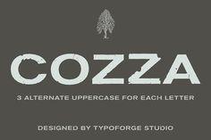 Cozza Letraset Font – now 9$ @creativework247