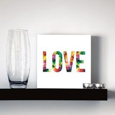 quadro decorativo love triangles