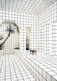 White ceramic tiles with black joints were French sculptor Jean-Pierre Raynaud's signature for most of his artistic production. In 1969, the artist started his research on space designing and constructing his own house at La Celle Saint-Cloud, France. As he considered the first built edifice...