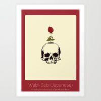 Art Print featuring Found In Translation - Wabi-Sabi by Anjana Iyer