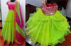 pink n green combo for mom n baby