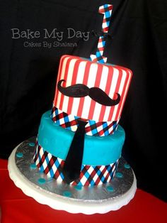 Mustaches n More — Children's Birthday Cakes