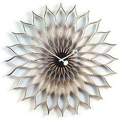 Sunflower Clock ~ via designShop UK... Beautiful!!!