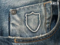 AW14 Denim Detail - Brade 224 Jeans #883police #AW14 #detail