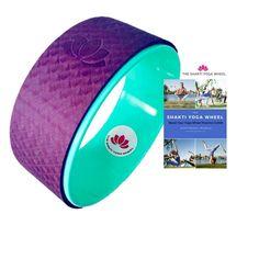 Karma Yoga Wheel: Veganes Yoga Rad aus Holz für Yoga Rad Übungen ...