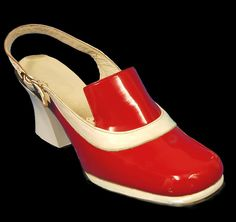 1966-67 Mary Quant shoes #fashion
