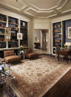 The Lexington Oriental Rug Company is a retailer of hand-knotted oriental rugs located in Lexington, Kentucky. Rugs In Living Room, Living Room Designs, Living Room Decor Inspiration, Southern Homes, Home Interior Design, My Dream Home, Home Furnishings, Kentucky, Sweet Home