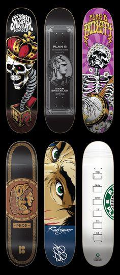 Plan B Skateboards by SoupGraphix Inc. , via Behance