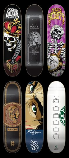 Plan B Skateboards by SoupGraphix Inc.