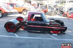 Slammed in the weeds Ford Truck at #SEMA 2013