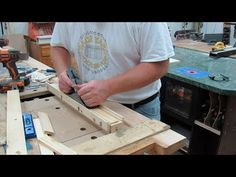 EASY - Exact Thickness Jig for your hand plane made from a 2ft 2x4