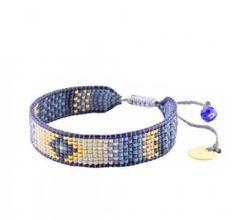 Woman pearl Track brown bracelet