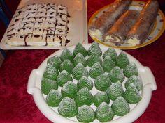 Karácsonyi zöld süti Krisztikétől