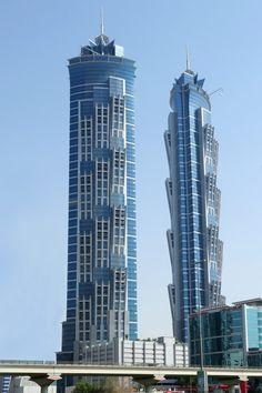 JW Marriott Marquis Hotel Dubai Tower 2 meters), Record-Breaking 53 Skyscrapers Built in Asia in 2013 Hotel Armani, Hotel A Dubai, Dubai Uae, High Building, Tower Building, Building Design, Amazing Architecture, Landscape Architecture, Architecture Design