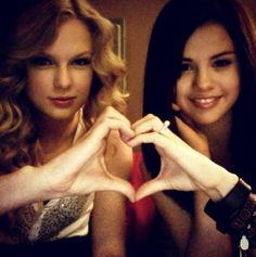 "taylorswift: ""Going through old pictures today, because Selena Gomez just turned 24! I can't imagine my life without you, Selena. HAPPY BIRTHDAY! """