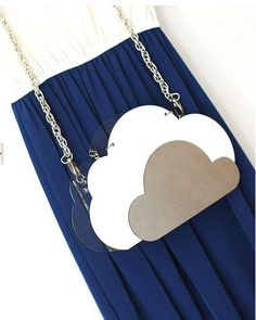 Designed Handmade Transparent Candy Collection accessories clouds bag clutch high fashion clutch bag on Etsy, $120.00