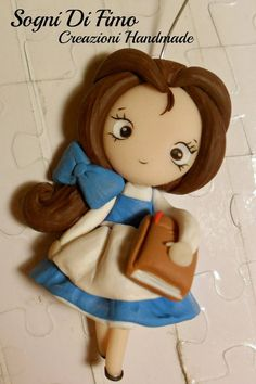 Beauty Belle Disney Fimo by ~SogniDiFimoCReazioni on deviantART