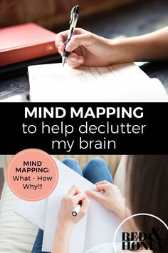 This is the power of mind mapping: plotting out a framework on which to hang your thoughts. Just like the power of tidying and decluttering your house, mind mapping feels incredibly satisfying and freeing. Creative Arts Therapy, Art Therapy, Brain Mapping, Free Your Mind, Declutter Your Mind, Simple Minds, Brain Dump, Self Care Activities, Cognitive Behavioral Therapy