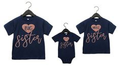 online shopping for 3 Sister Shirts Big Middle Little Sister Glitter Set 3 Matching Sister Shirts from top store. See new offer for 3 Sister Shirts Big Middle Little Sister Glitter Set 3 Matching Sister Shirts Big Sister Quotes, Little Boy Quotes, Brother Birthday Quotes, Family Quotes, Sibling Shirts, Sister Shirts, Shirts For Girls, Daughter Poems, Baby Sister