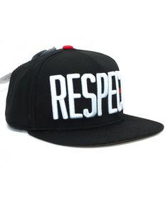 NEFF Damian Respect Snapback cap Black
